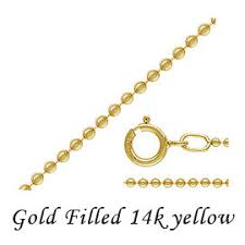 <b>Gold</b> Fylde necklace chain &lt