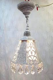 vintage white chandelier vintage white crystal pendant light white gold etchings crystal lantern light pearls french