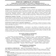 Corporate Attorney Resume Best Solutions Of Cover Letter Corporate