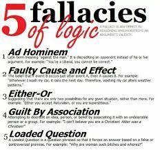 best logic reason and logical fallacies images 5 fallacies of logic