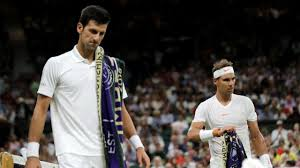 Image result for nadal vs djokovic wimbledon 2018