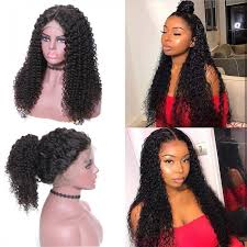 Unice Hair Bettyou Wig Series New Arrival 100 Human Hair Kinky Curly Medium Length 360 Lace Front Wigs Pre Plucked Natural Hairline