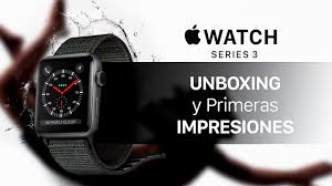 Resultat d'imatges de Apple Watch Series 3 COLOR NEGRO