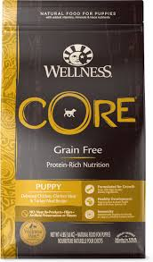 Wellness Core Puppy Feeding Chart Wellness Core Grain Free Puppy Chicken Turkey Recipe Dry Dog Food 4 Lb Bag
