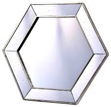 alluring 60 hexagon wall mirror design ideas of