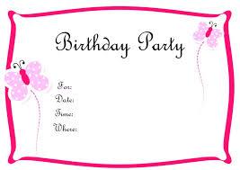 Free Printable Birthday Invitation Templates For Kids Birthday Invitations Free Printable Templates Kids Party Invitation
