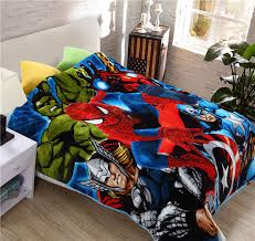 Student Kid The Avengers Duvet Cover/Boys Marvel Design School ... & Student Kid The Avengers Duvet Cover/Boys Marvel Design School Single Bed Quilt  Cover/ Adamdwight.com