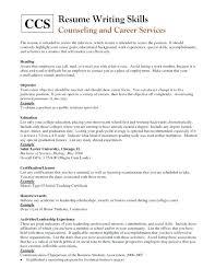 career focus resume