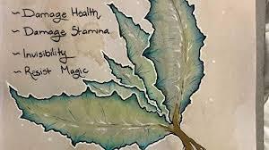 a skyrim fan is drawing its alchemy