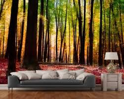 forest bedroom wallpaper uk. colourful autumn forest wallpaper mural bedroom uk e