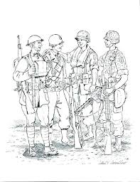 Soldier Coloring Pages Awesome Soldier Coloring Page Startling Army