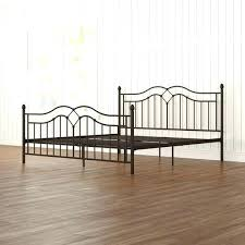 Iron Bed Frame Full Wrought Frames Queen Size For Sale Inch Platform ...