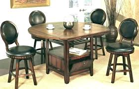 small bistro table set pub style and chairs sets wood cherry