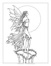 Free Fantasy Coloring Pages At Getdrawingscom Free For Personal