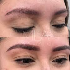 ultimately these techniques look amazing no matter your skin type for many it s personal preference many women fill in their brows daily and a filled in