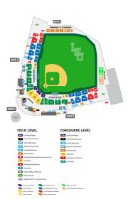 Hancock Stadium Seating Chart Alex Box Stadium Baseball Seating Chart Lsusports Net