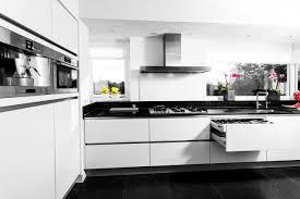 Hoogglans Keuken Zwart Wit