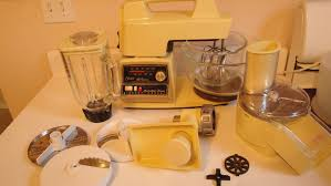 Kitchen Center 1970s Vintage Oster Regency Kitchen Center Mixer Grinder