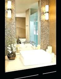 outstanding mosaic tile bathroom mirror around unique b