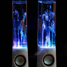 speakers with lights. water fountain sound speaker speakers with lights