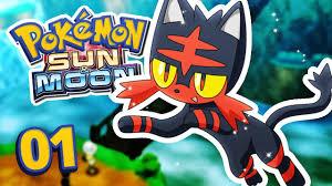 Pokemon Sun and Moon - CRAZY POKEMON! Episode 1 - YouTube