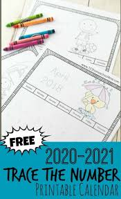 Dltk's printables free printable custom calendars (monthly or yearly) free 2007 thru 2022 printable calendars. Free Free Printable Traceable Calendars 2020 2021
