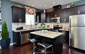adorable dark kitchen cabinets and dark kitchen cabinets with light granite dark cabinets light
