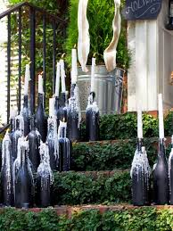 Wine Bottle Decorations Handmade How To Make Wine Bottle Candelabras HGTV 74
