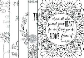 Bible Verses Coloring Pages Fashionadvisorinfo