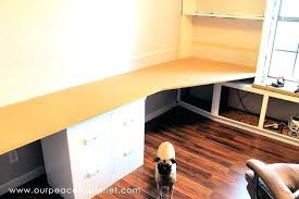 office worktop. Wood Home Office Desk Build A Large Surface From Inexpensive 3 4 Worktop
