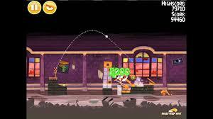 Angry Birds Seasons Haunted Hogs 1-4 Walkthrough 3-Star - YouTube