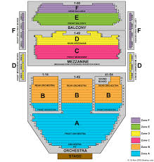 The Ahmanson Theater Seating Chart Ahmanson Theatre Seating The Orpheum Tampa Seating Chart