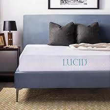 10 memory foam mattress full.  Full LUCID 10 Inch Gel Memory Foam Mattress  DualLayered CertiPURUS  Certified Intended Full D