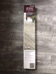4 cases luxury vinyl flooring stony oak grey 20 34 sq ft case