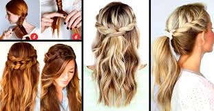 Hairstyle Yourself 30 cute and easy braid tutorials that are perfect for any 1067 by stevesalt.us