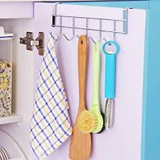 HOME CUBE <b>Multifunctional Stainless Steel</b> Door Hook Organizer ...