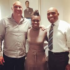 "Steve Wilkos Show on Twitter: ""#SteveWilkos with @TikiBarber & producer Sharee  Stephens on #set of #Unguarded with @Rachel__Nichols #wilkos #CNN  http://t.co/OeiJtI9f43"""