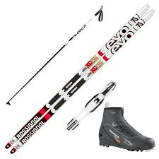 Rossignol Xc Ski Size Chart 2018 Rossignol Evo Xc 50 Skis W Rossignol X2 Boot And Poles