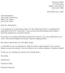 Primary Teacher Cover Letter Teacher Cover Letter Format Letter Writing Template Primary New
