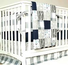 blue crib bedding set woodland nursery bedding set deer crib bedding navy blue gray baby boy