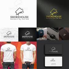 Smokehouse A Design Company Elegant Playful Business Logo Design For Smokehouse
