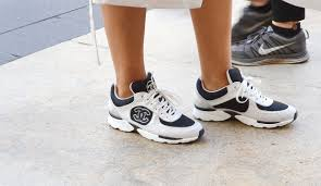 chanel runners. we\u0027d run for these chanel runners. new york fashion week attendees step out runners