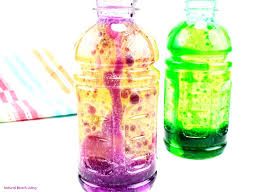 Lava Lamp Science Fair Project Magnificent How To Make Lava Lamp Bottles Science Experiment For Kids Natural