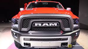 dodge trucks 2016 interior. Brilliant Dodge 2016 RAM 1500 Rebel  Exterior And Interior Walkaround Debut At 2015  Detroit Auto Show YouTube With Dodge Trucks B