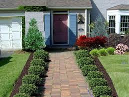 Garden Design Small Front Yard Landscaping Ideas Low Maintenance .