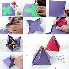 cute easy luxury how to pyramid gift box of diys fun do when your bored at