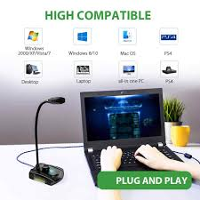 Maono GM30 Máy Tính Cổng USB Micro Đa Hướng Ngưng Tụ Chơi Game Microfono  Chuẩn Cắm Mic Với Tắt Tiếng Ghi Âm Youtube Skyp Microphones