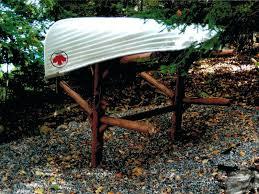 freestanding kayak rack log kayak rack ships to free standing outdoor kayak rack