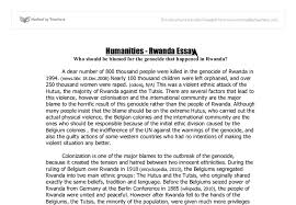 rwanda genocide international baccalaureate history marked by  document image preview