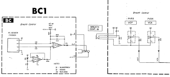 breath controller for synths w bc input need design help page  these appear to use a sensor and op amp and are powered by the bc input the bc 1 circuit is from a cs 01 synth schematic the bc2 schematic isn t sourced
